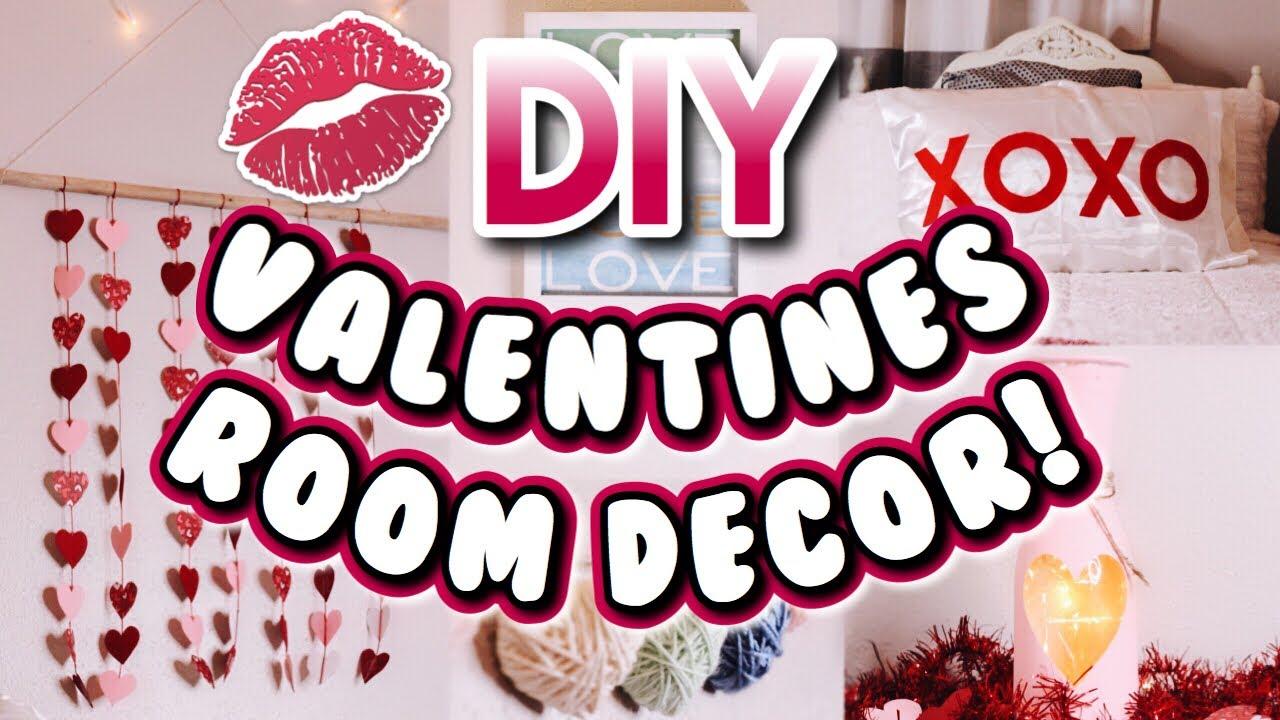 DIY VALENTINE'S DAY ROOM DECOR! | Easy and cheap decor ideas 2019!
