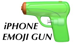 iPhone Emoji Gun Review