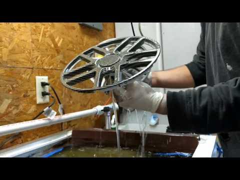 Custom hydrodipping  Powerwheels rims