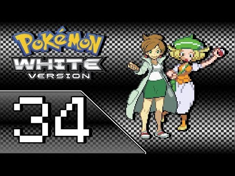 Let's Play Pokemon White - Part 34 - Enter Chargestone Cave