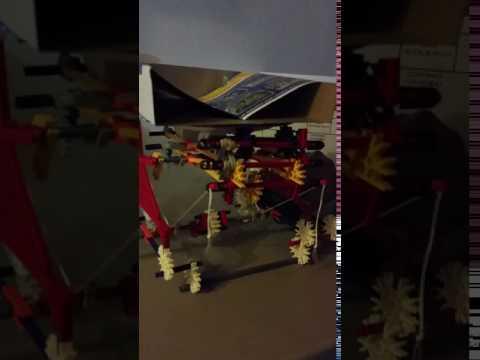 String Mechanism Scissor Lift Prototype