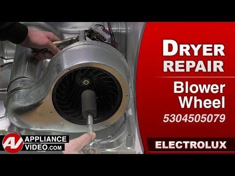 Electrolux Dryer - Blower wheel diagnostic & Repair