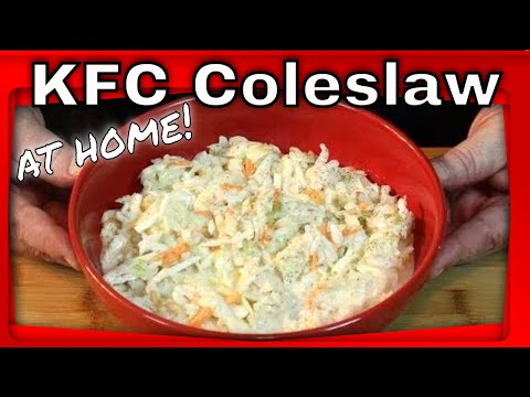 How to Make KFC Coleslaw at Home!