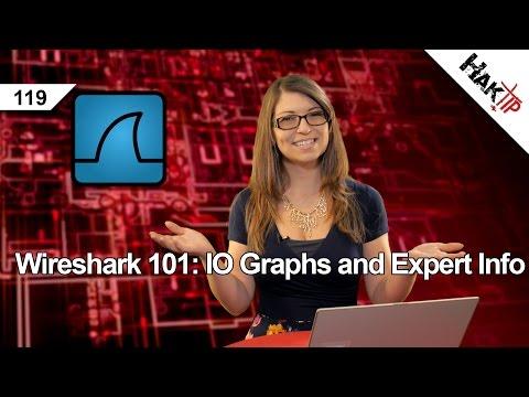 Wireshark 101: IO Graphs and Expert Info, HakTip 119
