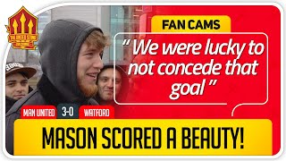 GREENWOOD GOAL CLASS Manchester United 3 0 Watford Fancam