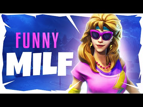 messing with a milf in fortnite