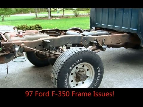 Ford F350 Frame Rust Issues