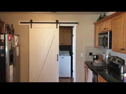 Barn Door installed
