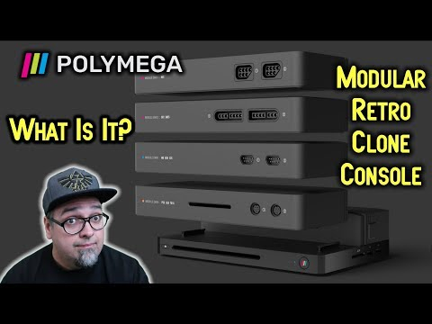 CRAZY! Polymega Modular Retro Clone Console - Goes Into Production! Overview & Thoughts!