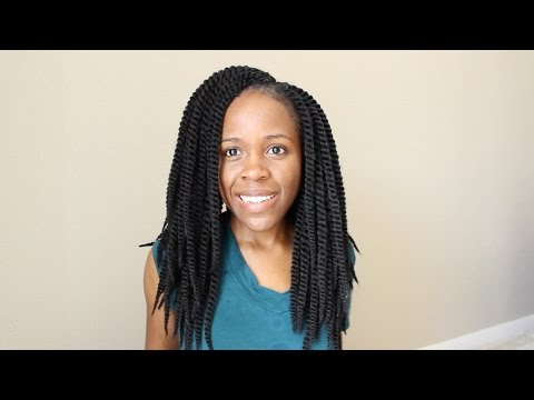 How I Wash and Moisturize Crochet Braids | Natural Hair