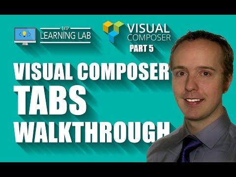 Visual Composer Tabs & Accordians - Visual Composer Tutorials Part 5
