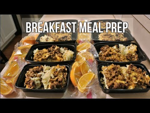 Breakfast Meal Prep - Sausage, Egg, and Cheese Breakfast Casserole