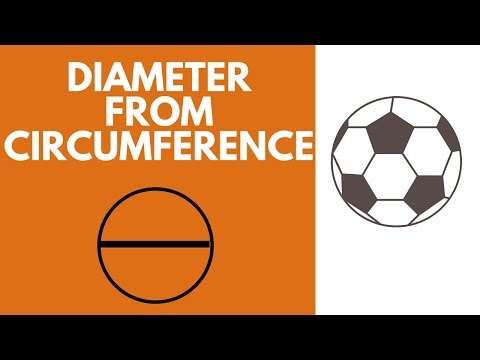 Calculate Diameter given circumferecefor circles and spheres