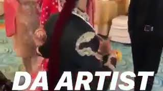 Pakistan Cricketer Hassan Ali Dance with his wife after Nikkha