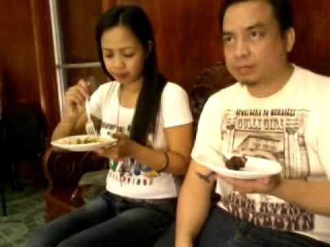 Food tasting @ L. De Vera's Catering with clients Jayr and Geraldine.