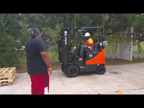 Learn the skills needed to become a forklift operator. Get your forklift license in Jacksonville.