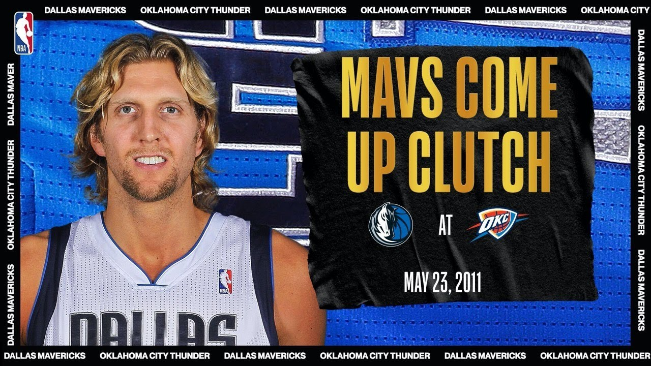 Dirk Drops 40 PTS To Lead Mavs In Game 4 | #NBATogetherLive Classic Game