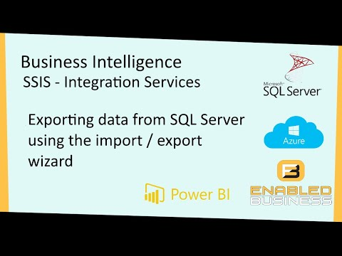 Exporting Data from SQL Server using the Wizard
