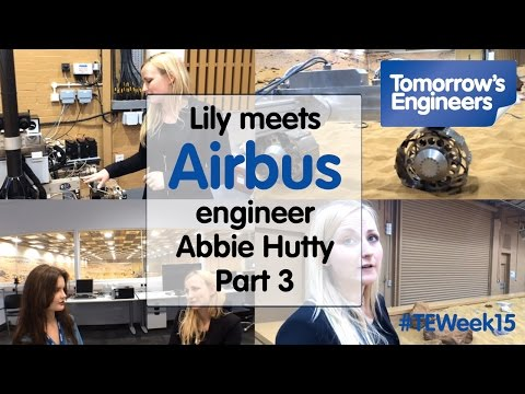 Lily meets Abbie Hutty, Engineer at Airbus Part 3
