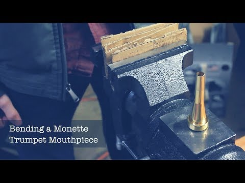 How To Bend Your Own Trumpet Mouthpiece - UNDER 2 Minutes