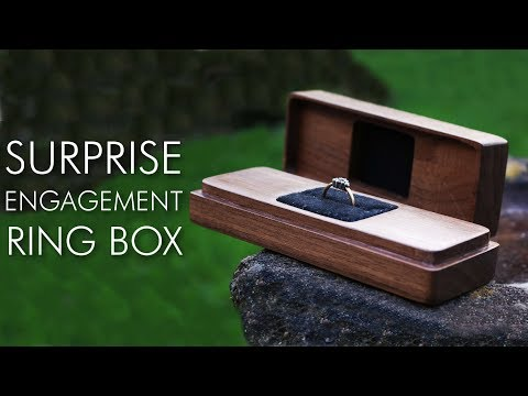 Surprise Engagement Ring Box - Using The X Carve
