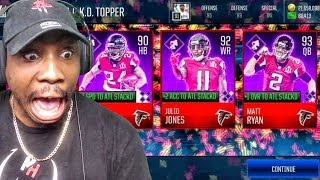 CRAZIEST PULLS EVER SEEN IN S.T.A.C.K.D. PACK OPENING! Madden Mobile 18 Gameplay Ep. 14