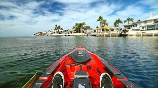 Kayak Fishing by $1,000,000 Homes in Florida! - Offshore (Powered by Old Town) | DALLMYD