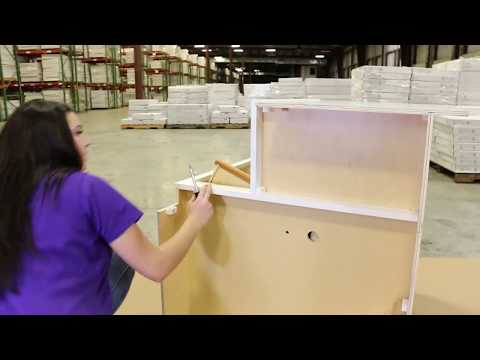 How to Assemble a Lazy Susan Cabinet From Cabinets To Go