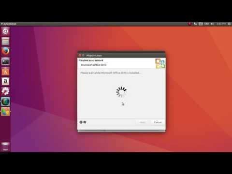 How to Install Microsoft Office on Ubuntu (18.04) (17.10.1) (16.04.4) (14.04.5)