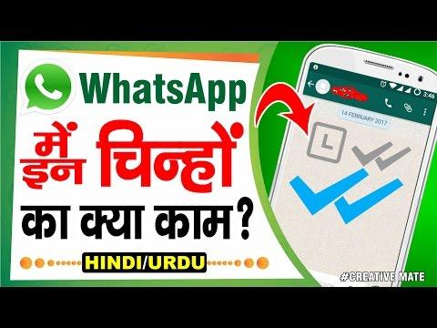 Tick Icon Explain in WhatsApp | Clock Icon | Grey Double Tick | Blue Double Tick | Explain