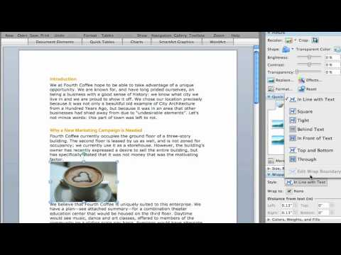 Office for Mac Tips - Text Wrap
