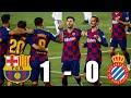 Barcelona Vs Espanyol 1 0 La Liga 2020 MATCH REVIEW