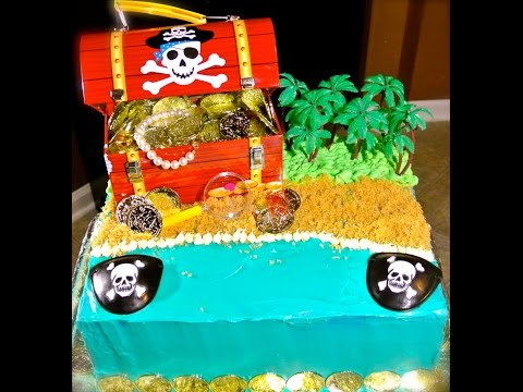 Pirate Cake Tutorial (How To)