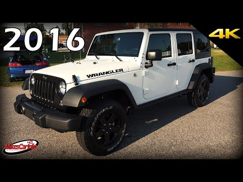 2016 Jeep Wrangler Unlimited Black Bear Edition - Ultimate In-Depth Look in 4K