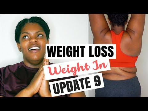 WEIGHT LOSS UPDATE #9 + BODY SHOTS | KEILA KETO
