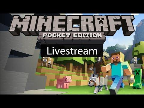 Minecraft Pocket Edition PVP: Capture the Flag Livestream