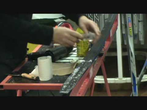 Skiing - How to wax Cross Country Skis?  Part I
