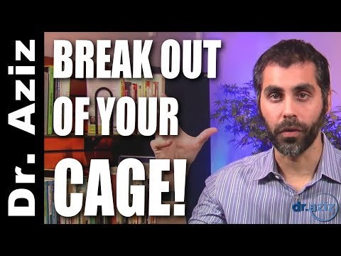 How To Break Out Of The Cage Of Your Personality | Dr. Aziz - Confidence Coach