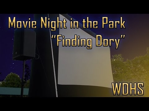 Movie Night in the Park - Finding Dory
