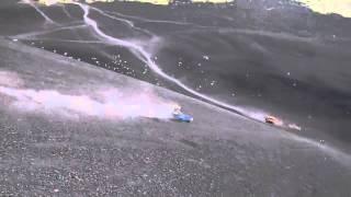 Volcano Boarding - 74 km/hr at Volcan Cerro Negro