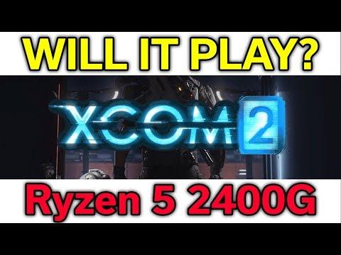 Will it Play? - XCom 2 - Ryzen 5 2400G - VEGA 11 - Benchmark