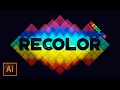 How to Use Recolor Artwork in Adobe Illustrator