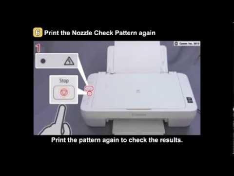 PIXMA MG2420/MG2520: Uneven printing, Faint printing