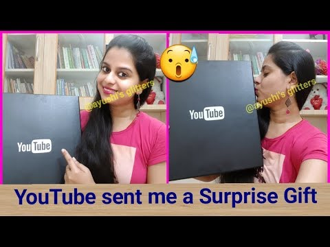 YouTube sent me a DIWALI Gift | Our Silver Play Button Award Unboxing in Hindi