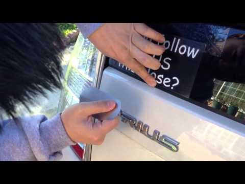 How to install decal sticker