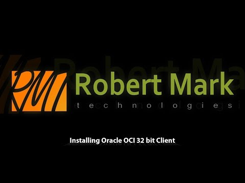 Installing Oracle OCI 32 bit Client in Linux