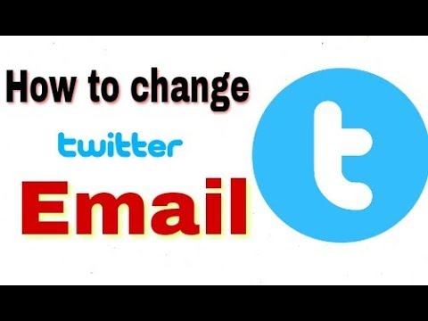 How to change twitter account email id in hindi..
