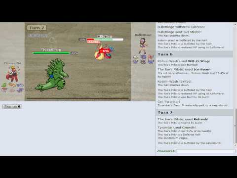 Pokemon Showdown Battle Series [OU] - Battle #7