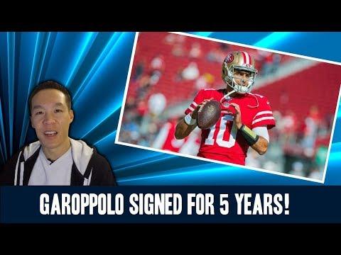 Nukem384 News: Jimmy Garoppolo Signed for 5 Years!