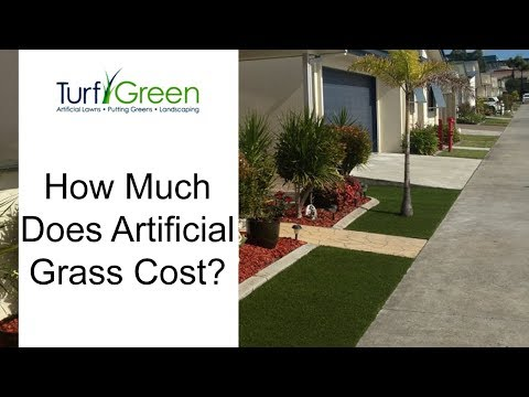 How Much Does Artificial Grass Cost? - Turf, Lawn, Astroturf